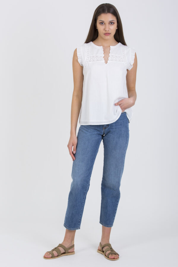 arya-cotton-lace-ruffle-top-maison-hotel-matchboxathens