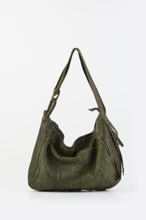 mati-green-pleated-leather-bag-shoulder-croosbody-mialuis-matchboxathens