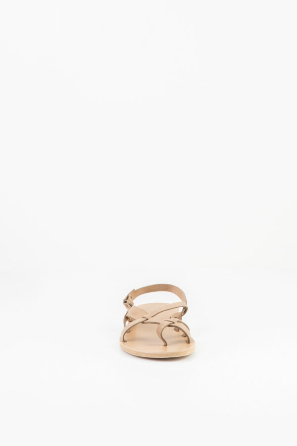 wailea-khaki-beige-leather-sandal-valia-gabriel-matchboxathens