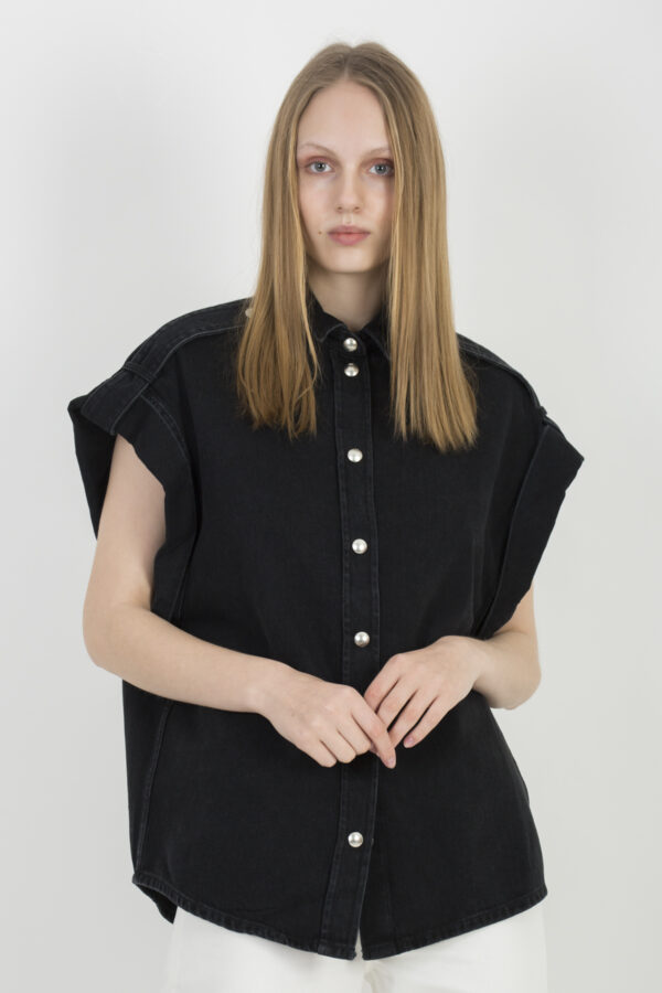 anglia-oversized-shirt-black-denim-iro-matchboxathens
