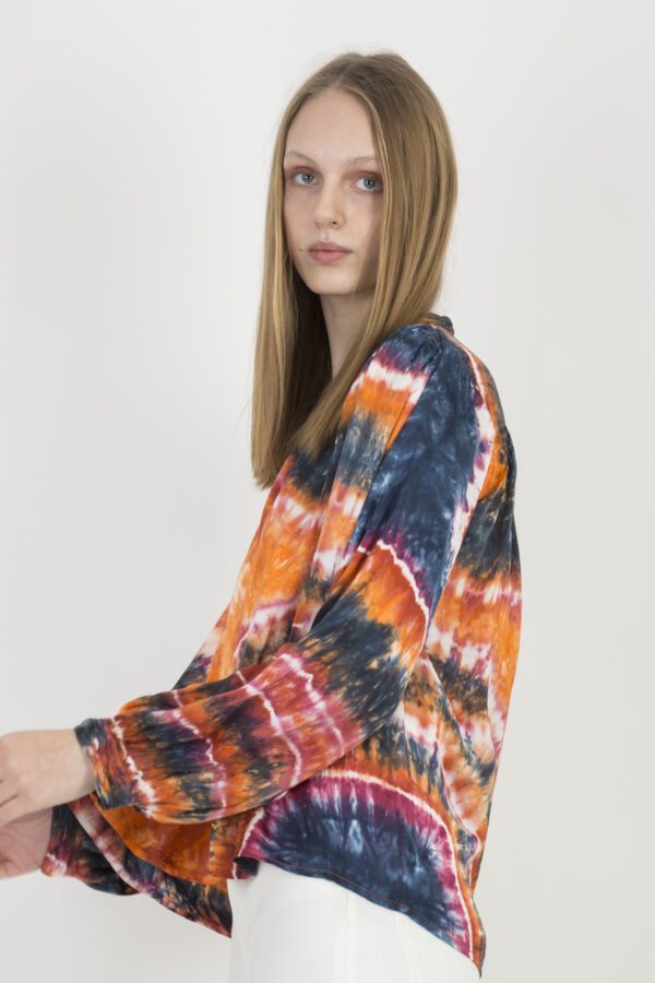 kloe-tie-dye-orange-viscose-charlie-jo-matchboxathens