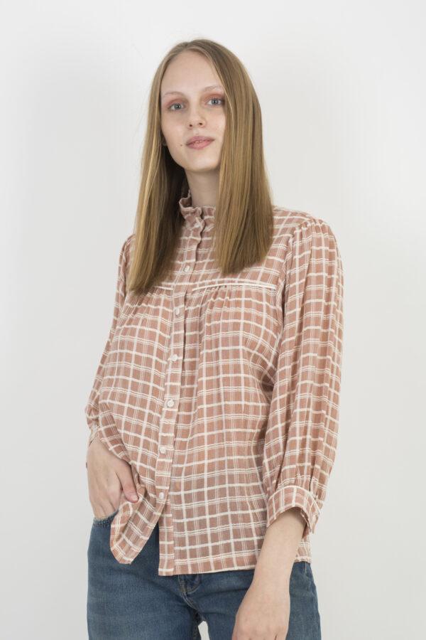 cadeau-pink-checked-shirt-la-petite-francaise-matchboxathens