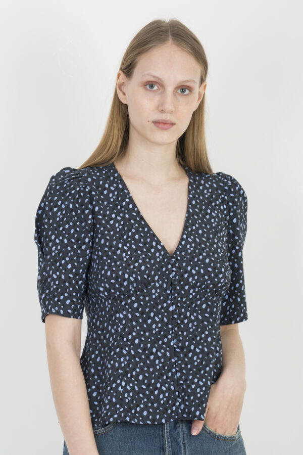 riley-blue-mini-dot-top-twist-tango-puffy-sleeves-matchboxathens