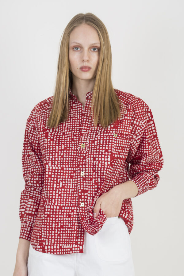 kimale-kimba-shirt-red-dot-print-matchboxathens
