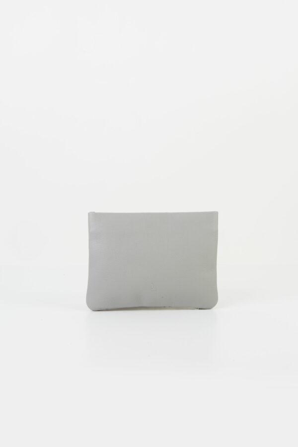 fishbone-light-grey-clutch-chain-leather-park-house-matchboxathens