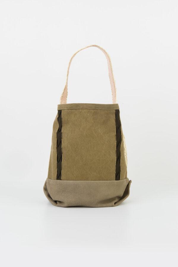 randa-khaki-cotton-canvas-leather-embroideries-claramonte-matchboxathens