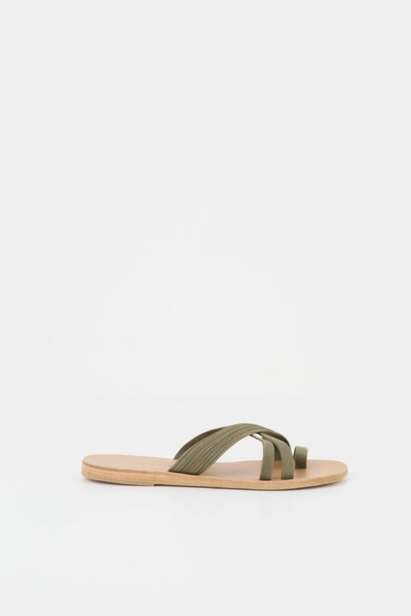 pink-sands-military-green-handmade-leather-sandal-valia-gabriel-matchboxathens