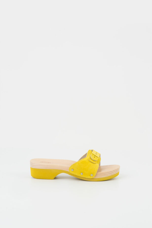 pescura-wooden-mule-yellow-suede-scholl-matchboxathens