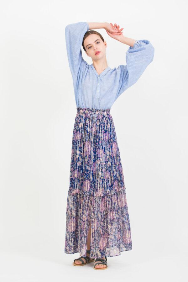 jomeo-maxi-skirt-lurex-ruffles-berenice-matchboxathens