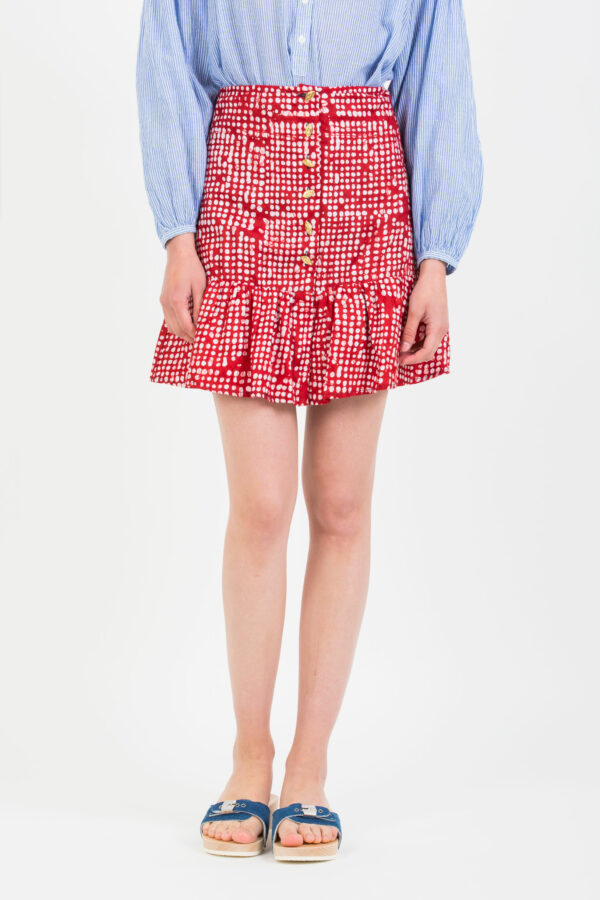 gabi-red-dots-mini-skirt-buttons-kimale-african-wax-cotton-matchboxathens