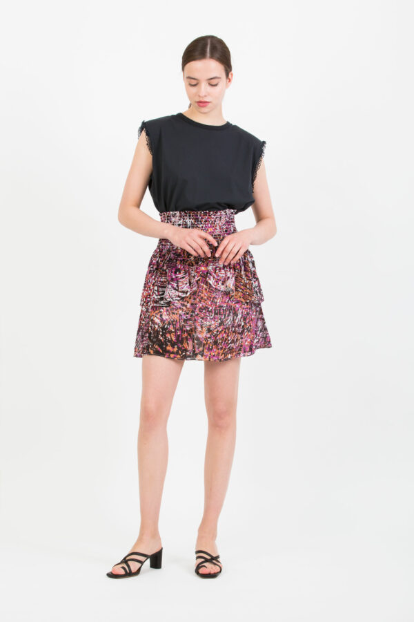 fanon-skirt-bois-de-rose-ruffle-mini-smocked-suncoo-matchboxathens
