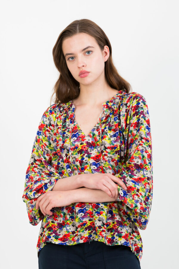 lysiane-floral-multicolor-fluid-blouse-ruffles-suncoo-matchboxathens