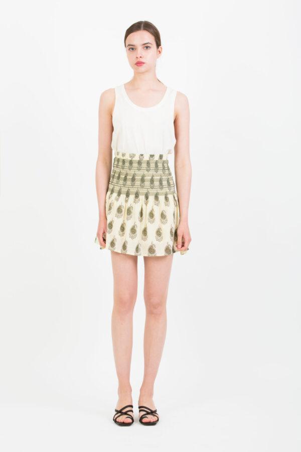jessie-mini-skirt-bohemian-smocked-waist-berenice-matchboxathens