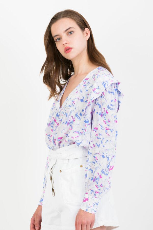 leica-mauve-blouse-ruffles-suncoo-matchboxathens