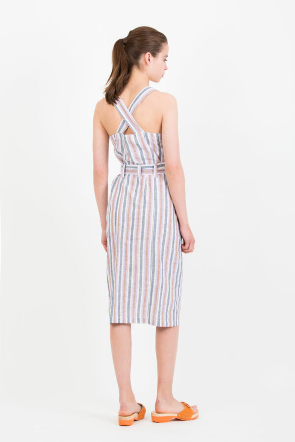 colombe-dress-suncoo-striped-matchboxathens