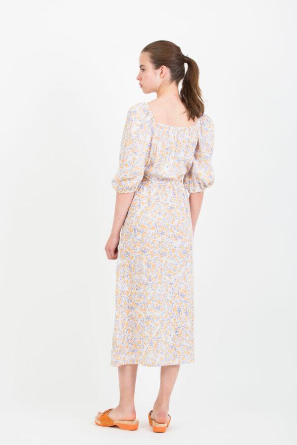 chelby-suncoo-beige-floral-dress-cut-outs-matchboxathens
