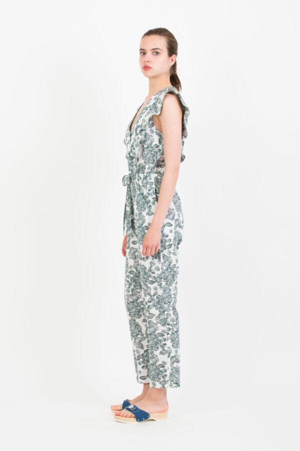 kelya-jumpsuit-ruffles-print-floral-berenice-matchboxathens