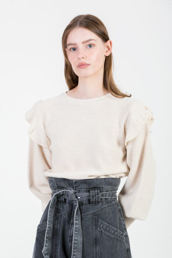 luz-whitecloud-beige-sweater-ruffles-sessun-matchboxathens