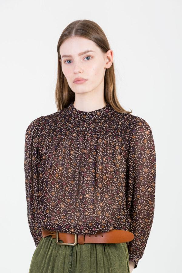 yama-blouse-black-print-viscose-sessun-ballon-sleeves-matchboxathens