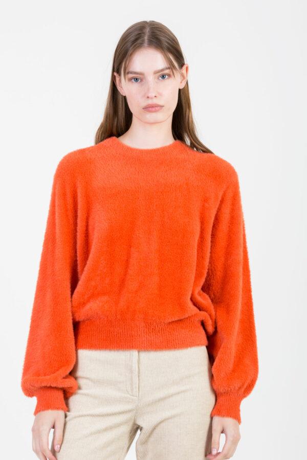 egpik-brick-orange-fuzzy-sweater-american-vintage-matchboxathens