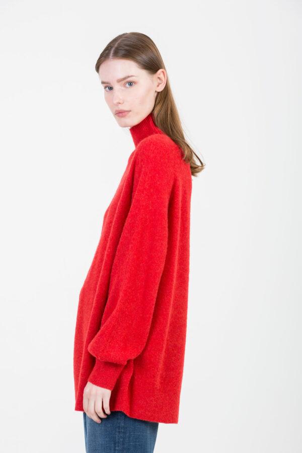 kybird-red-wool-loose-fit-american-vintage-matchboxathens