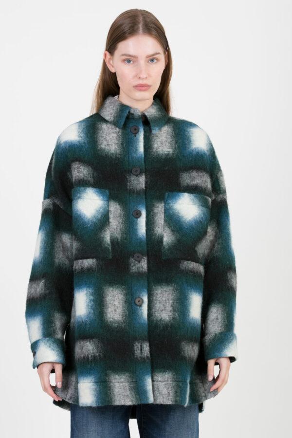 harwell-iro-check-print-green-coat-oversized-wool-matchboxathens