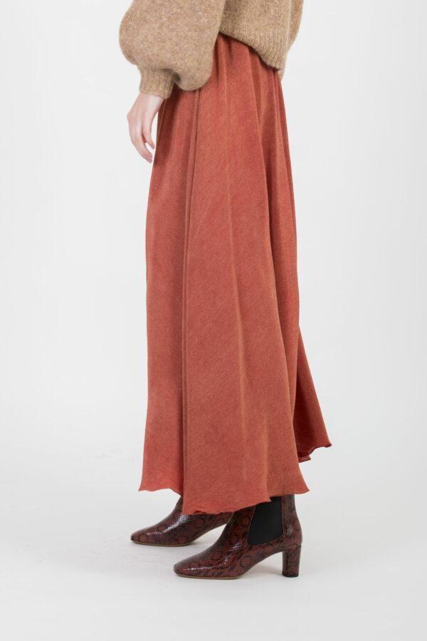 rita-red-skirt-maxi-viscose-mesdemoiselles-matchboxathens