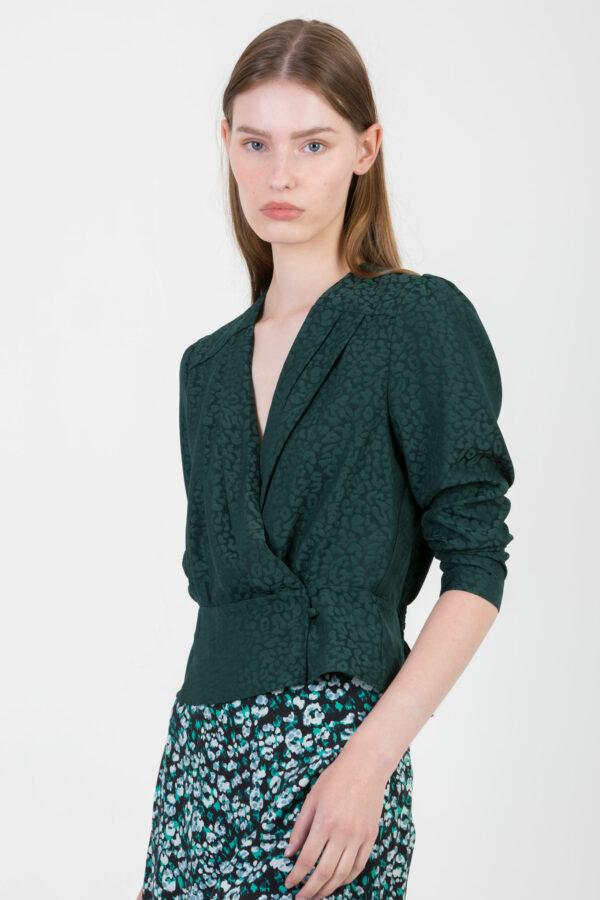 lilou-green-leopard-shiny-top-crop-suncoo-matchboxathens