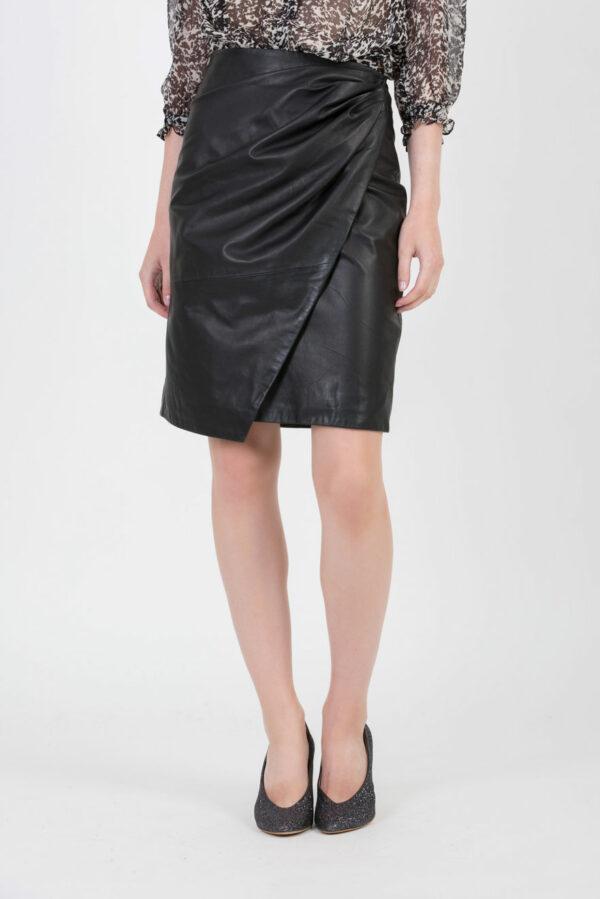 denny-leather-black-skirt-berenice-matchboxathens