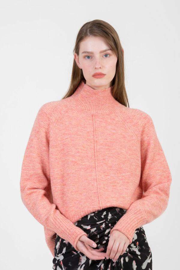 pescar-rose-sweater-oversize-high-neck-suncoo-matchboxathnes