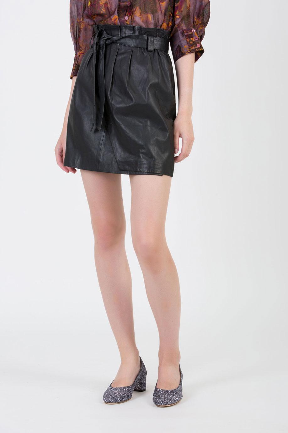 jazz-black-leather-skirt-high-wiast-berenice-matchboxathens