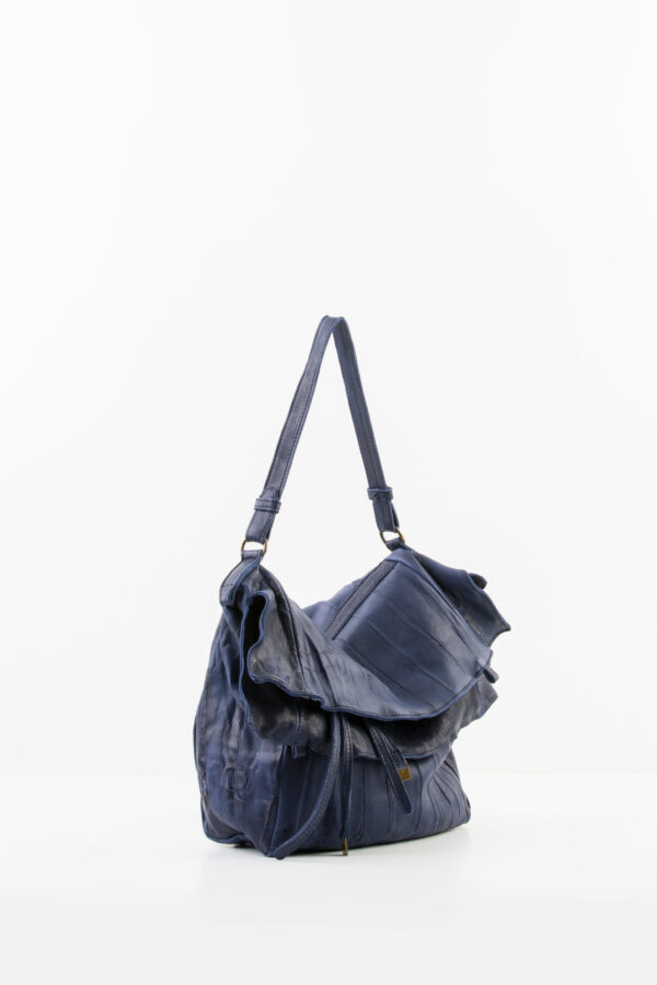 tessa-blue-leather-bag-pleated-mialuis-matchboxathens