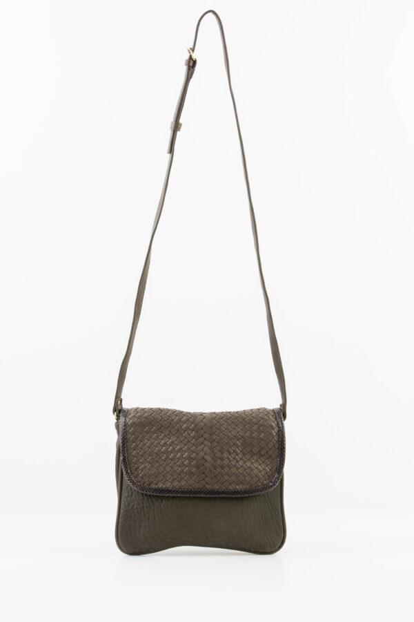 suzy-dark-khaki-leather-crossbody-bag-weave-claramonte-mathcboxathens