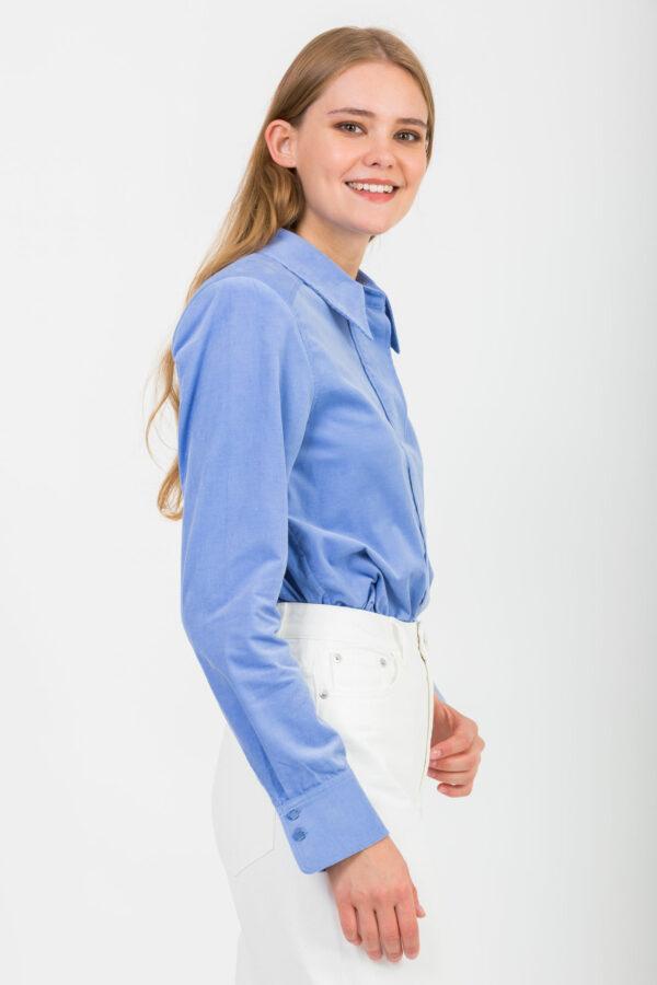 xandria-blue-shirt-corduroy-twist-tango-shoulder-pads-matchboxathens