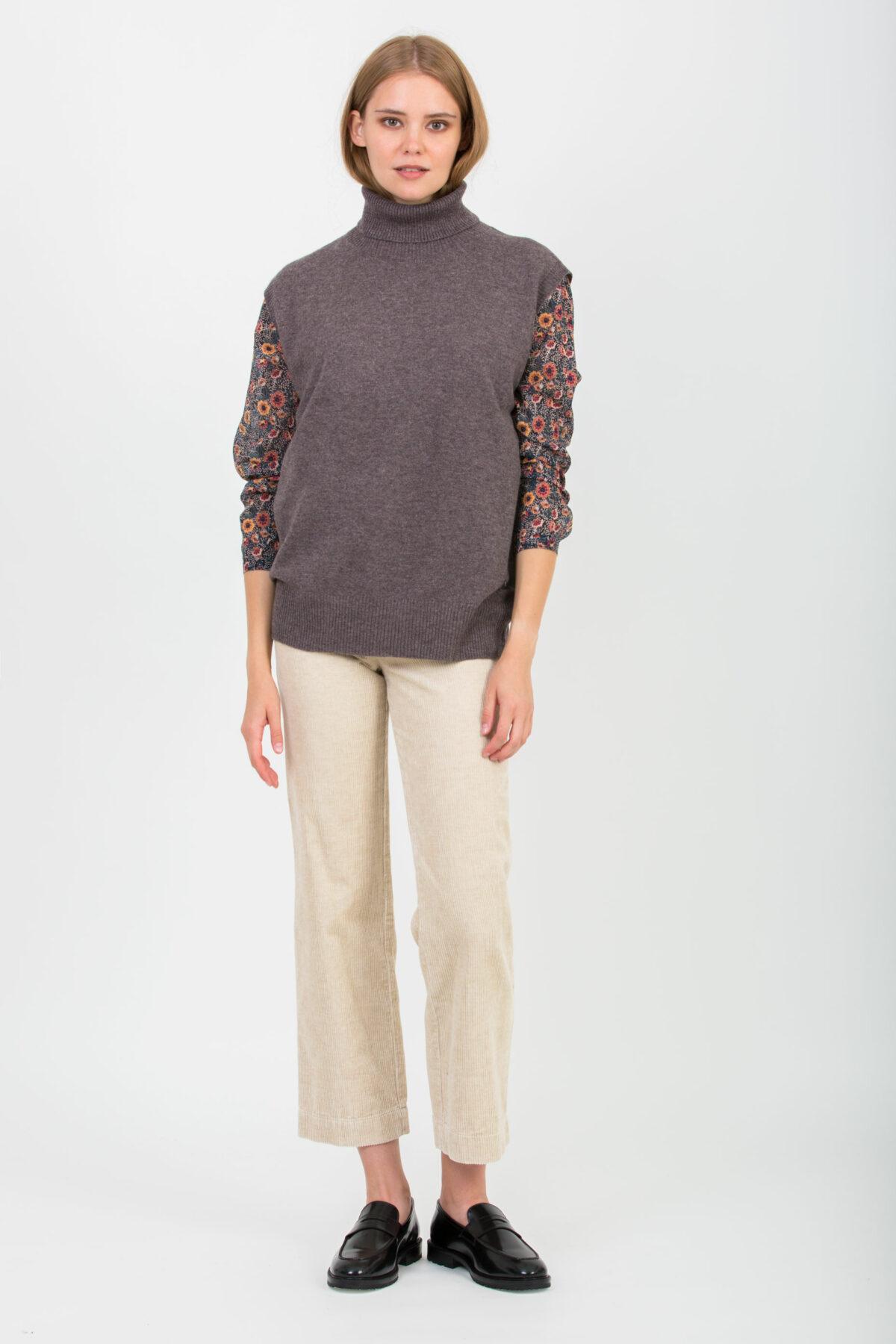 trina-brown-melange-sweater-turtleneck-twist-tango-matchboxathens