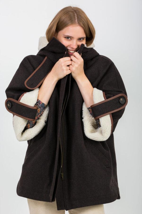 nellie-coat-hooded-wool-brown-sheep-sessun-matchboxathens