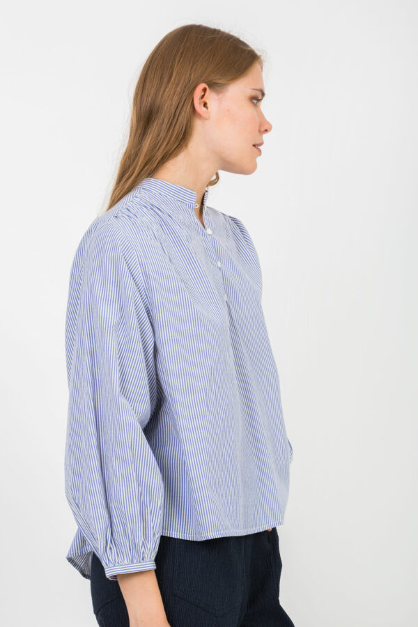 mederic-navy-stripe-blouse-fluid-vanessa-bruno-matchboxathens