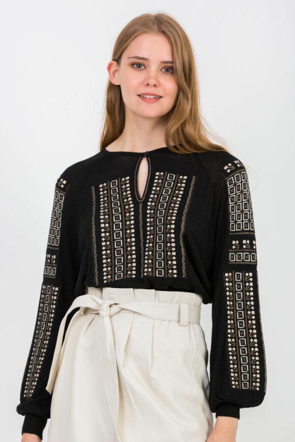 esmeralda-sweater-cashmere-black-embroidery-mesdemoiselles-matchboxathens