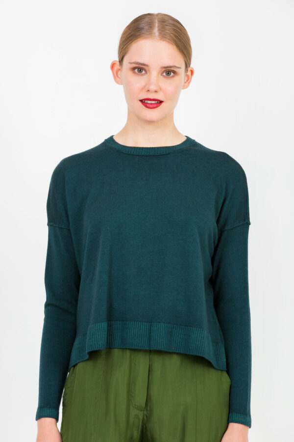 corm-dark-green-sweater-wool-oversized-crossley-matchboxathens