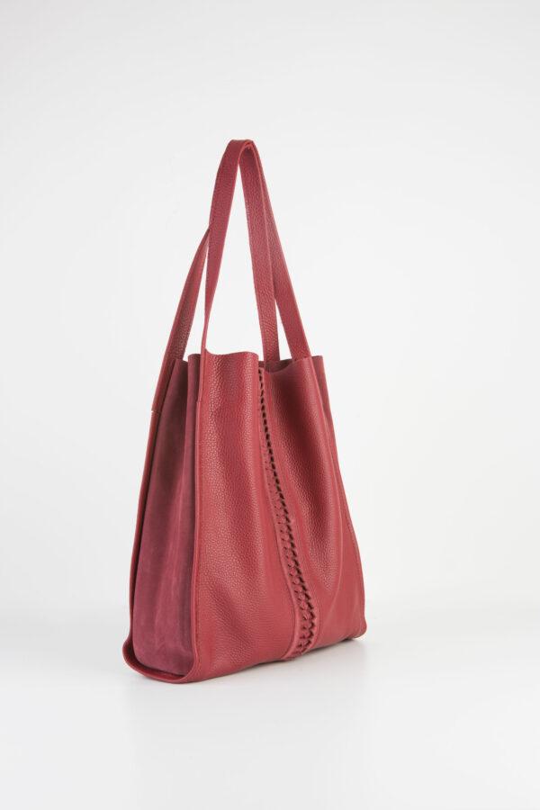 shopper-bordeaux-leather-bag-fishbone-parkhouse-matchboxathens