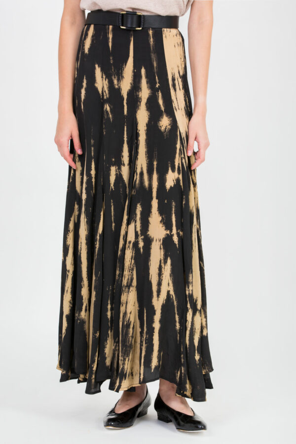 centralia-skirt-maxi-fluid-black-beige-mesdemoiselles-matchboxathens