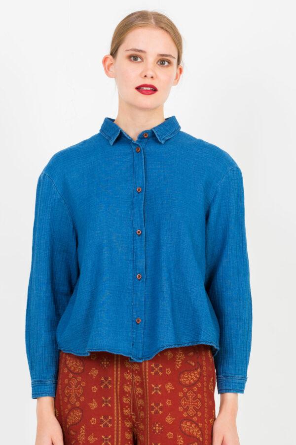 daisy-blue-shirt-cotton-sacrecoeur-matchboxathens