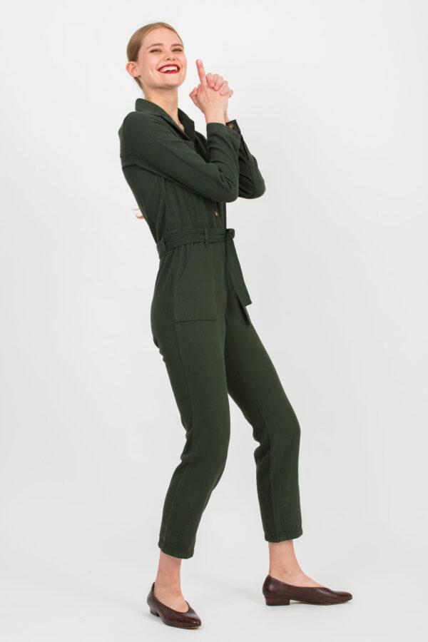 cosmo-green-denim-jumpsuit-cotton-labdip-matchboxathens