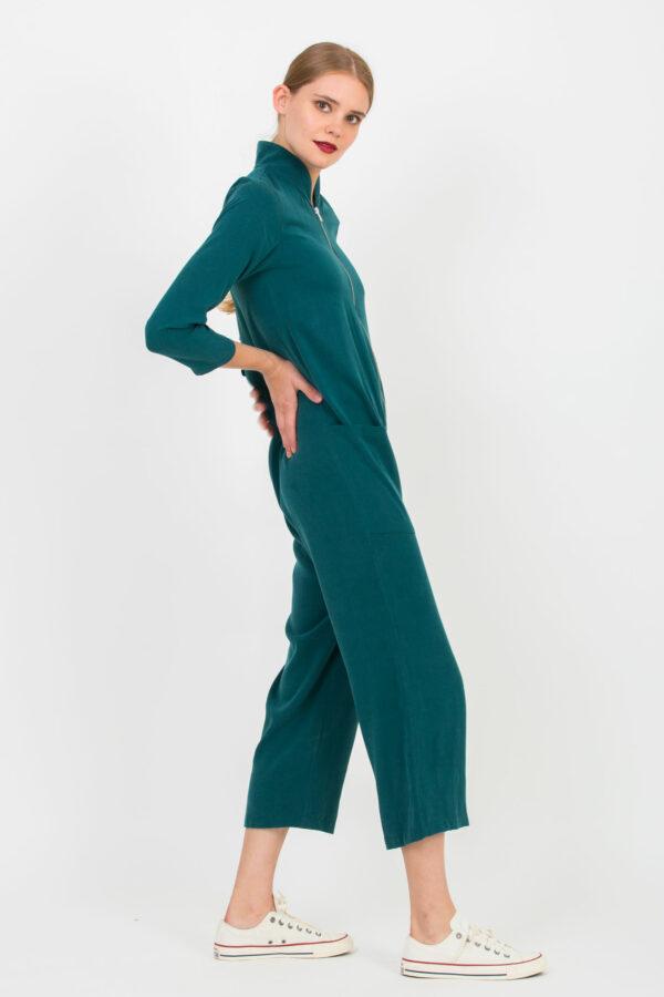 filippa-jumpsuit-petrol-viscose-uniformeathens-matchboxathens