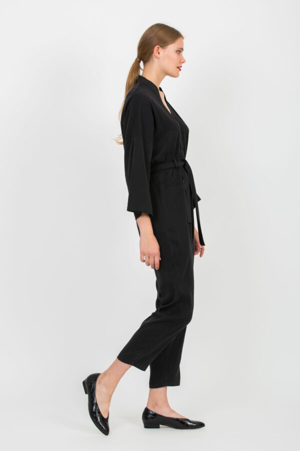 coco-black-twill-viscose-kimono-jumpsuit-uniformeathens-matchboxathens