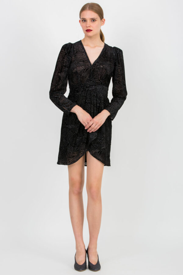 romeo-black-velvet-dress-wrap-berenice-matchboxathens