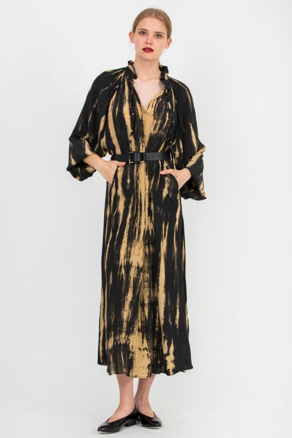 curfew-long-dress-viscose-black-bronze-mesdemoiselles-matchboxathens